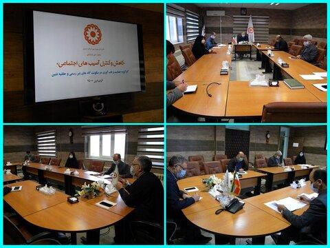 برگزاری اولین جلسه درون سازمانی کارگروه حمایت و تاب آوری در سکونت گاههای غیر رسمی و حاشیه نشین در بهزیستی استان اردبیل