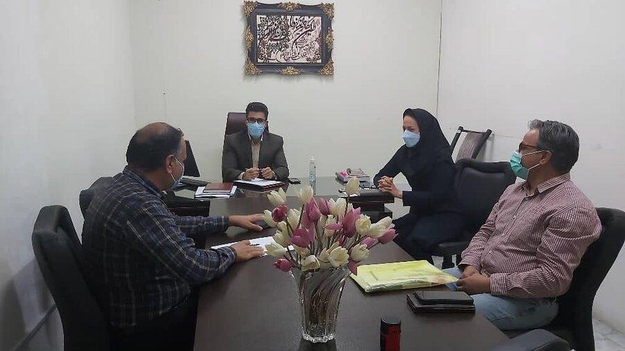 شهریار| جلسه بررسی چالشهای طرح غربالگری بینایی