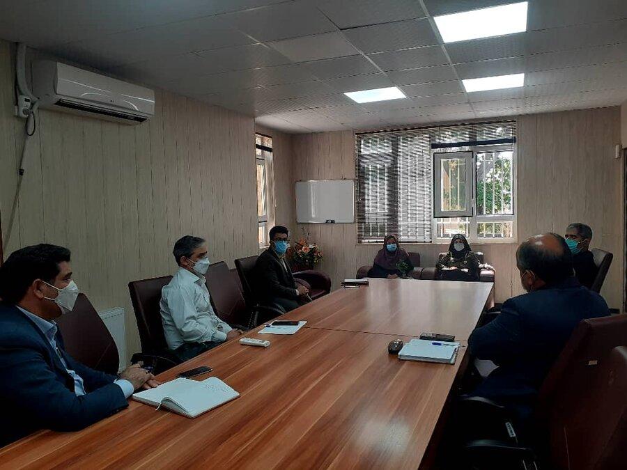شهریار| برگزاری نشست مدیران مراکز مثبت زندگی