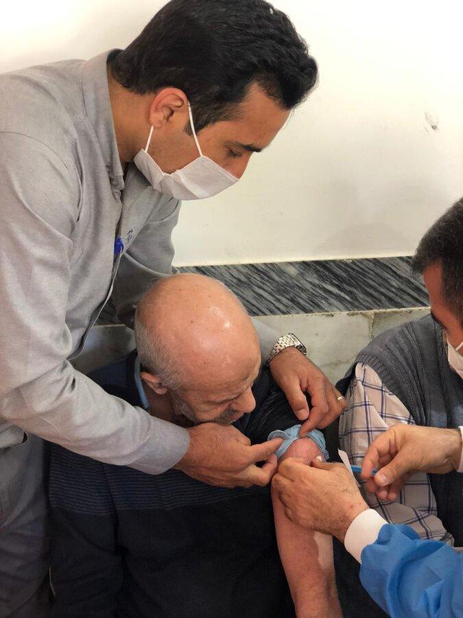 گزارش تصویری/ اتمام مرحله دوم واکسیناسیون کووید_۱۹ سالمندان