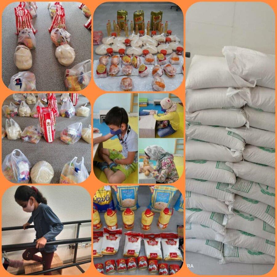 ۵۵۴ بسته در قالب بسته های معیشتی درطرح ضیافت همدلی  بین مددجویان تحت پوشش مدیریت بهزیستی شهرستان بوشهر توزیع شده است