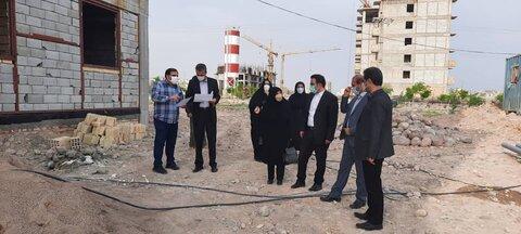 گزارش تصویری/ بازدید از مراحل پیشرفت ساختمان اورژانس اجتماعی
