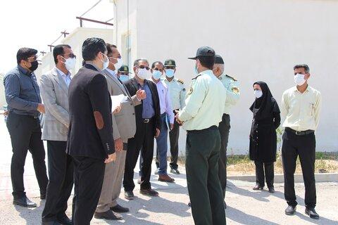 بندرعباس | بازدید از مرکز نگهداری و توانمندسازی معتادین متجاهر