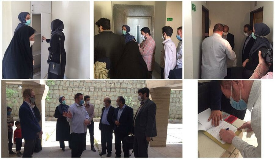 واگذاری یک دستگاه واحد مسکونی به خانواده دارای ۶عضو معلول تحت پوشش بهزیستی استان البرز