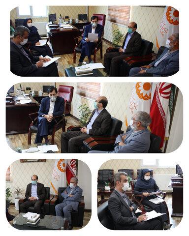 نشست مدیرکل بهزیستی استان البرز با دبیر شورای هماهنگی مبارزه با مواد مخدر استان