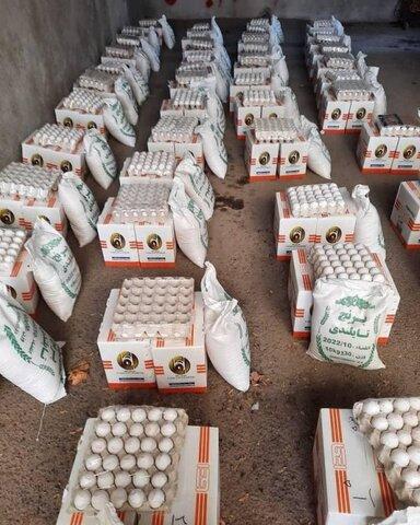 با همت خیر ابهری 2تن برنج در بین مددجویان بهزیستی توزیع شد