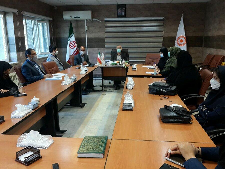 برگزاری دومین جلسه درون و برون سازمانی کارگروه حمایت و تاب آوری در سکونت گاههای غیر رسمی و حاشیه نشین در بهزیستی استان اردبیل