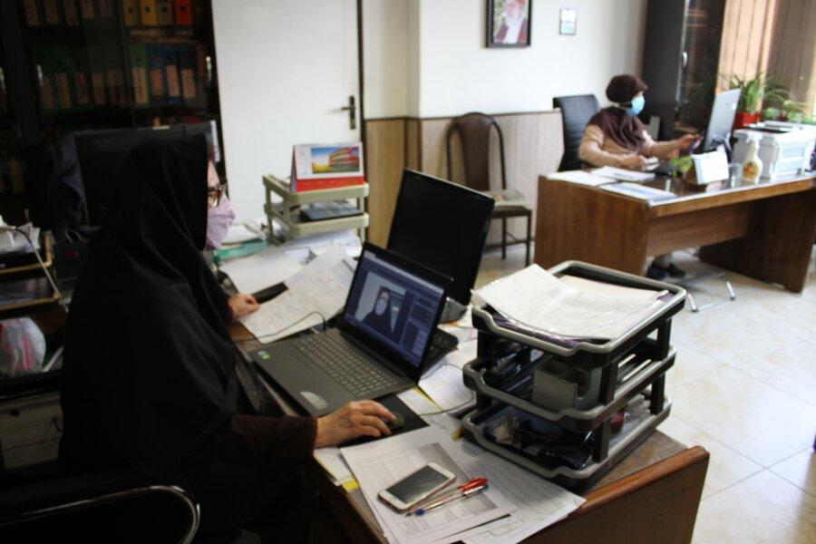 جلسه مجازی همیاران سلامت اجتماعی