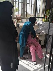 گلپایگان| واکسینه شدن سالمندان مرکز سالمندان امام سجاد(ع) در مقابل ویروس کرونا