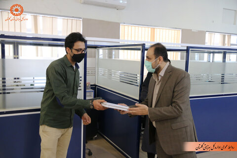 گزارش تصویری | تقدیر مدیرکل بهزیستی استان از پرسنل مرکز1480 و روانشناسان همکار