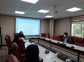 برگزاری جلسه فرهنگی بهزیستی البرز با محوریت نماز و ویژه برنامه های ماه مبارک رمضان