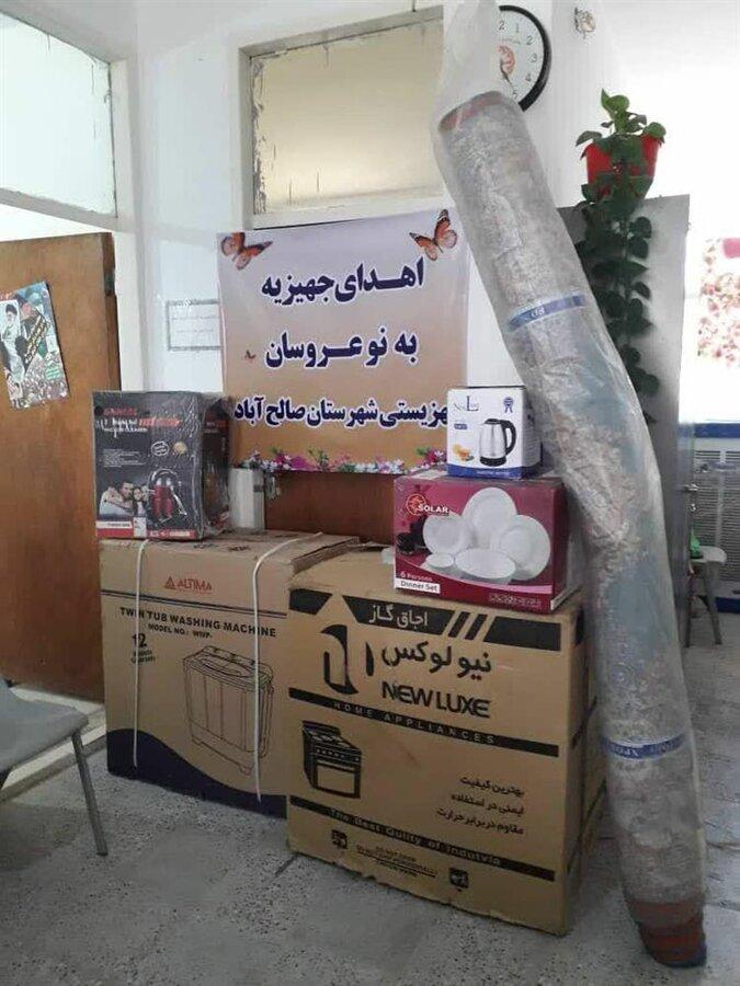 صالح آباد | نیکوکاری در شهرستان صالح آباد؛ از اهدای جهیزیه تا بسته های غذایی رمضان