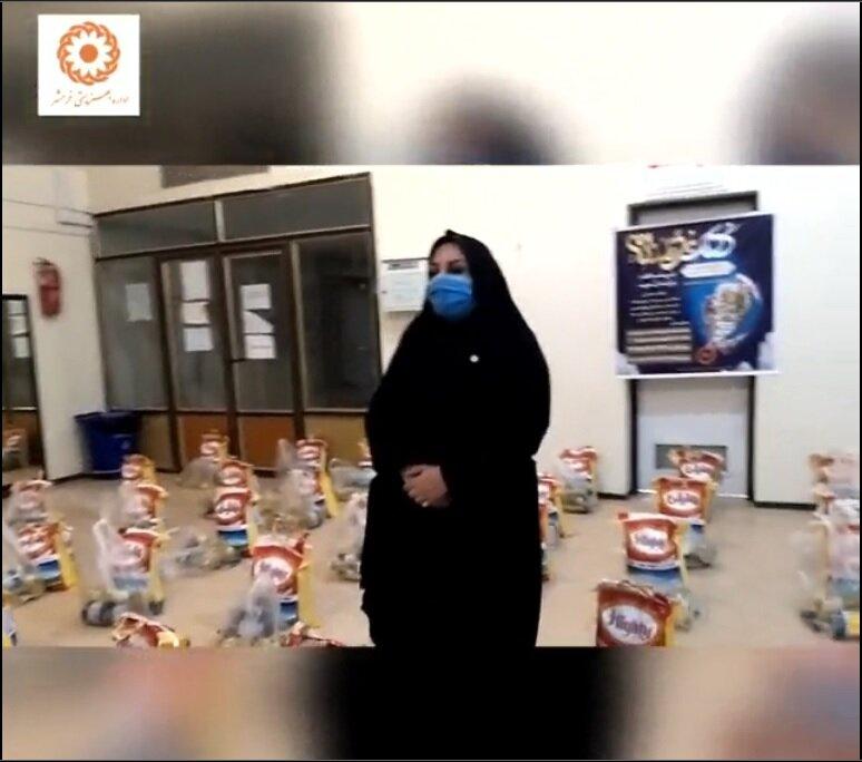 فیلم  پویش ضیافت همدلی رمضان  بهزیستی خرمشهر