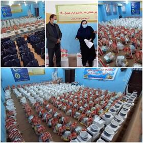 بهبهان|توزیع ۶۴۳ بسته معیشتی به مناسبت شب شهادت امام علی(ع)