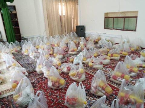 مسجد سلیمان|توزیع ۴۰۰  بسته معیشتی بین مددجویان بهزیستی