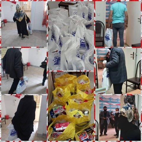 نظرآباد | پخش بسته های معیشتی بین مددجویان نظرآبادی