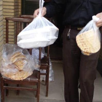 ورامین| یکهزار پرس غذای گرم توزیع شد