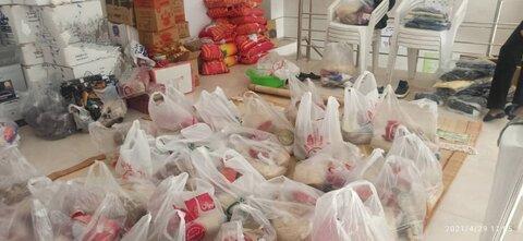 گزارش تصویری توزیع کمکهای پویش ایران همدل بین مددجویان