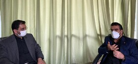 دیدار سرپرست بهزیستی خراسان رضوی با مدیرعامل بنیاد ۱۵ خرداد