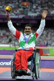 عبدالرضا جوکار؛ مرد طلایی رشته دو و میدانی پارالمپیک