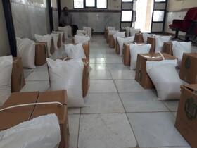 ملکشاهی| توزیع ۵۰ بسته غذایی در اجرای پویش ضیافت همدلی بین مددجویان ملکشاهی