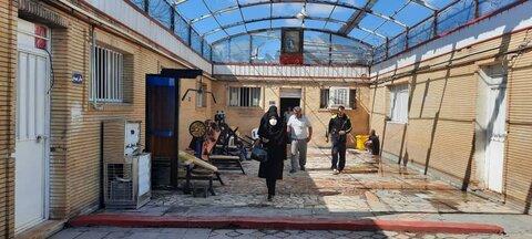 گزارش تصویری/ بازدید سرزده مدیرکل بهزیستی آذربایجان شرقی از مرکز بازتوانی فردای سبز