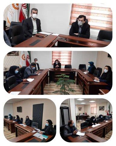 کمیته ساختار و فناوری های مدیریتی بهزیستی البرز تشکیل جلسه داد