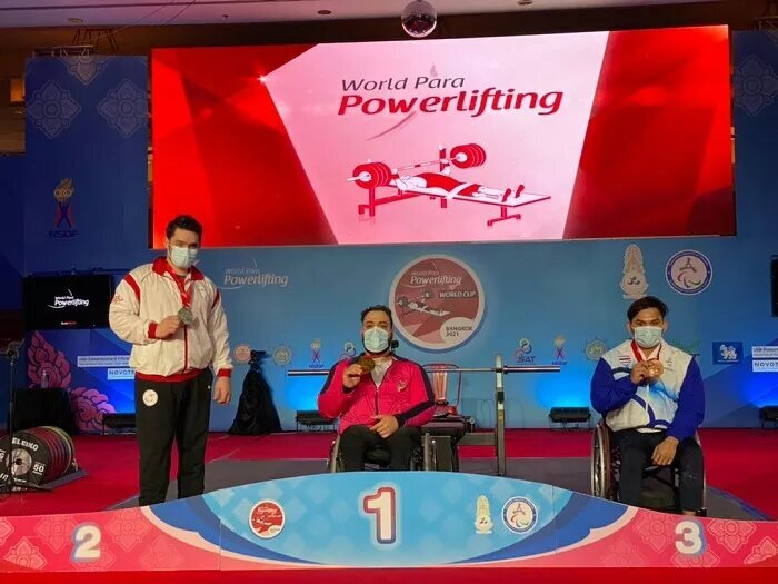 Rostami claims gold at World Para Powerlifting World Cup