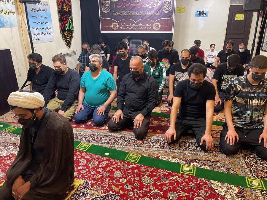 برگزاري مراسم ویژه ماه رمضان و برپايي سفره افطار در مراكز اقامتي
