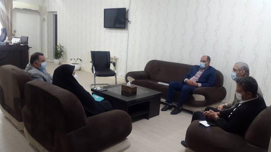 نشست در خصوص راه اندازی اداره بهزیستی شهرستان در فرمانداری خمام