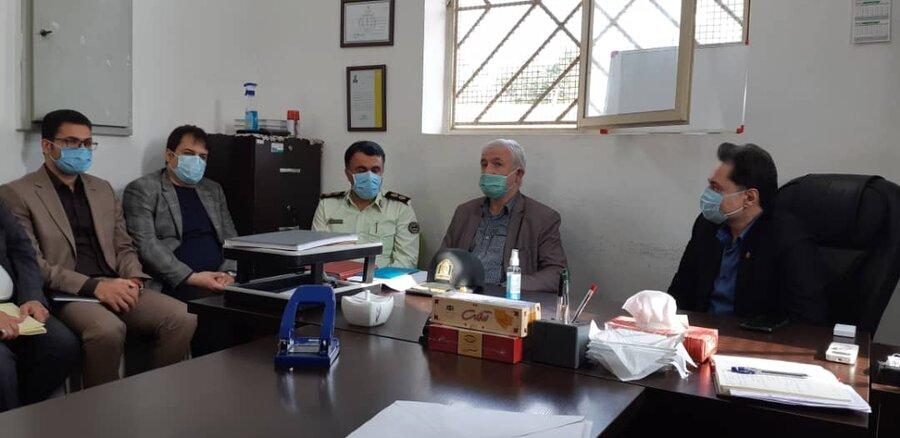بازدید مدیرکل بهزیستی گیلان از مرکز نگهداری ، درمان و کاهش آسیب ( ماده ۱۶ )