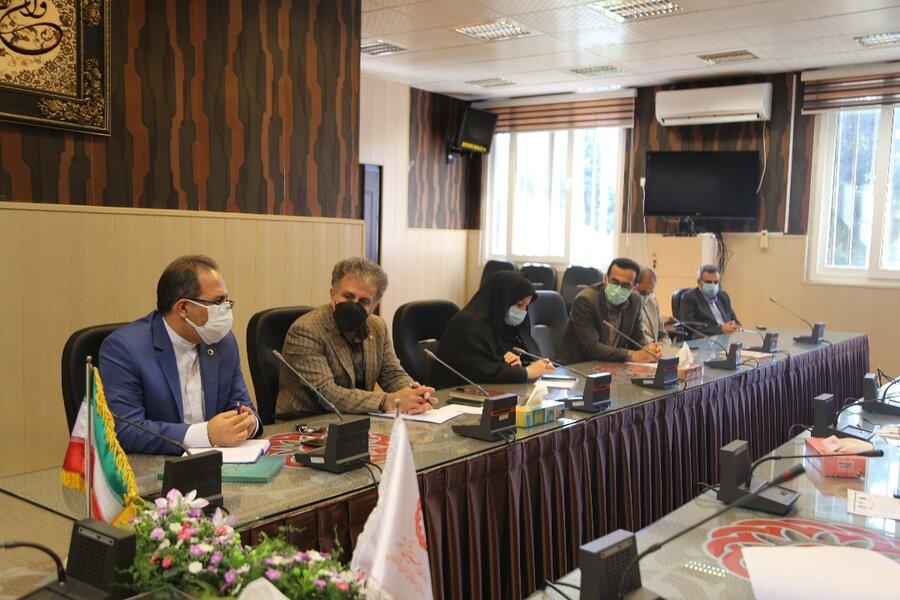 جلسه شورای معاونین بهزیستی مازندران