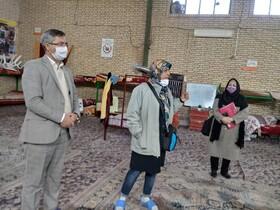 شیروان  بازدید بانوی کار آفرین خراسان شمالی از کمپ های شیروان