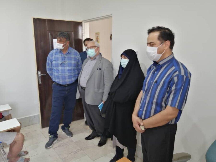 بازدید رئیس مرکز توسعه و پیشگیری درمان اعتیاد بهزیستی کشور از مرکز احسان