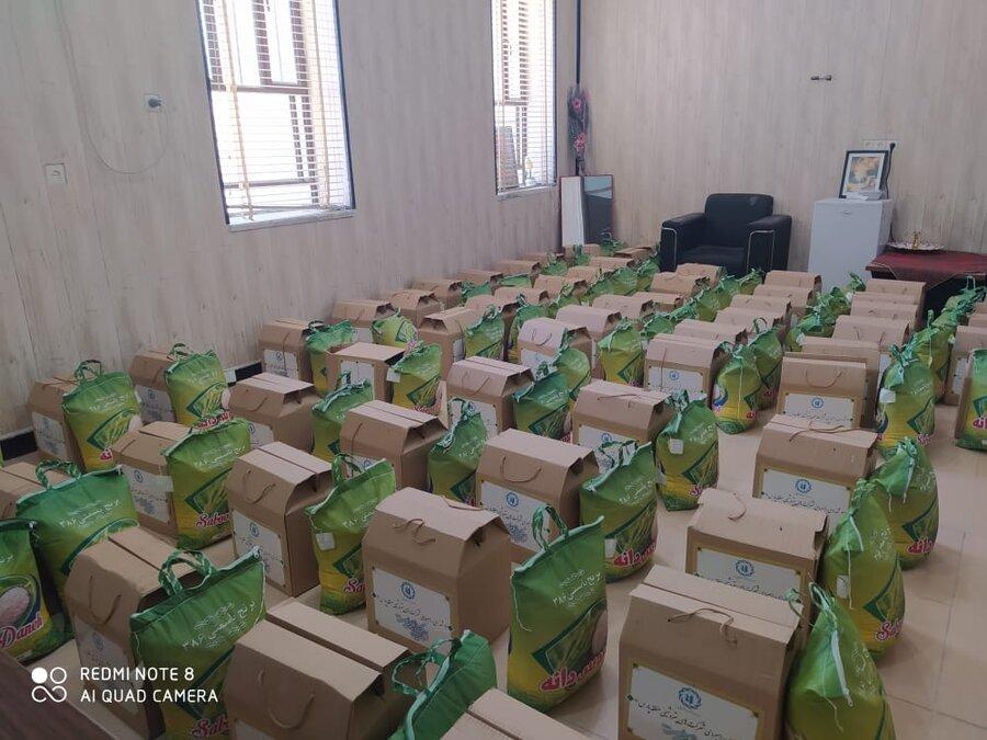 کنگان| ۷۵۰بسته معیشتی در طول ماه مبارک رمضان بین خانوارهای مددجوی این سازمان در سطح شهرستان توزیع شد