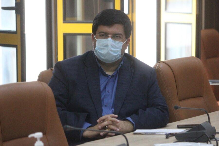 نشست مشترک اداره کل بهزیستی ، معاونت بهداشتی دانشگاه علوم پزشکی و خدمات بهداشتی درمانی در خصوص واکسیناسیون کووید -۱۹
