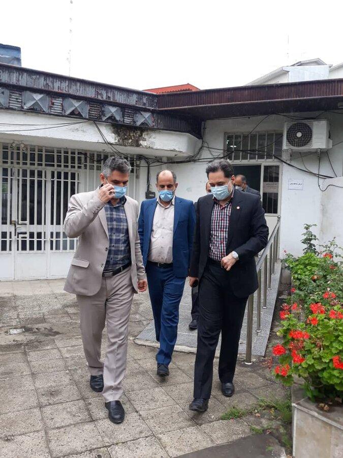 بازدید مدیرکل بهزیستی گیلان از دادگاه درمان مدار در رشت