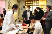 بازدید سرپرست بهزیستی خراسان رضوی از واکسیناسیون نوبت دوم مراکز اقامتی استان