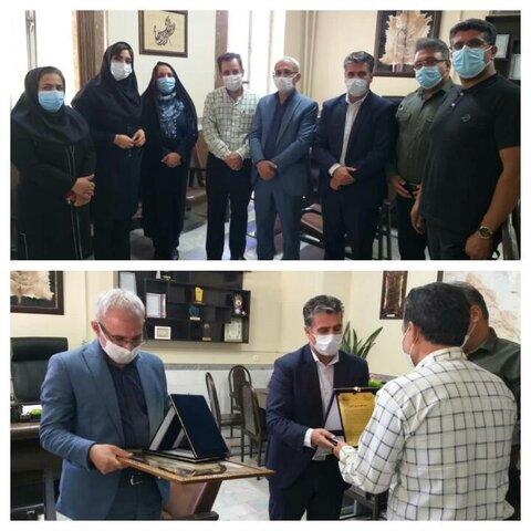 فارس | فیروزآباد | دیدار هیئت مدیره خانه کودکان و نوجوانان با رئیس اسبق و سرپرست جدید بهزیستی فیروزآباد