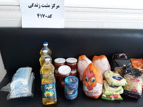اسدآباد | توزیع ۱۰۰ بسته سبد کالا به افراد  تحت پوشش بهزیستی