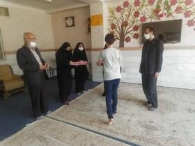 بازدید مدیر کل بهزیستی استان قم از مرکز حضرت حمزه (ع) و تقدیر از توجه مسولین مرکز به امور فرهنگی و مذهبی
