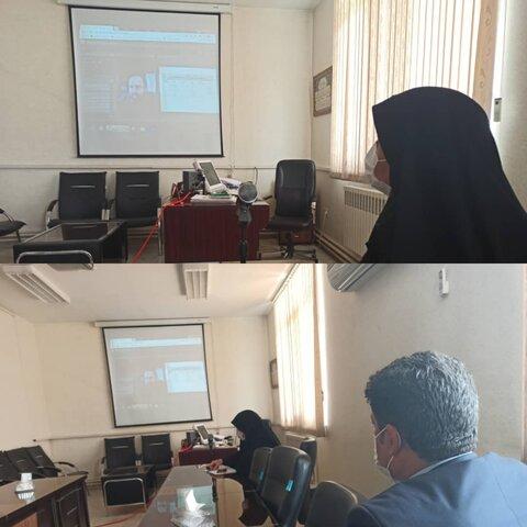 تشریح اولین کمیته حمایت و تاب اوری اجتماعی توسط مدیرکل بهزیستی استان کرمانشاه در جلسه ویدیو کنفرانس با سازمان بهزیستی کشور و مدیران کل سایر استانها
