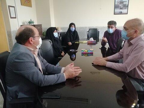نجف آباد| برگزاری جلسه هم اندیشی بهزیستی با بیمارستان شهید مدرس