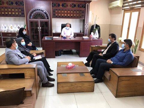 نشست هیات ورزش های جانبازان و معلولین استان برگزار شد