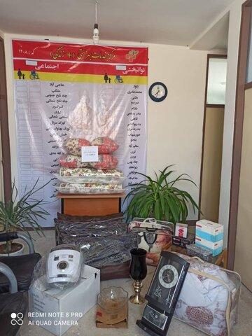 تنگستان| اهدا جهیزیه به نو عروس تحت حمایت بهزیستی