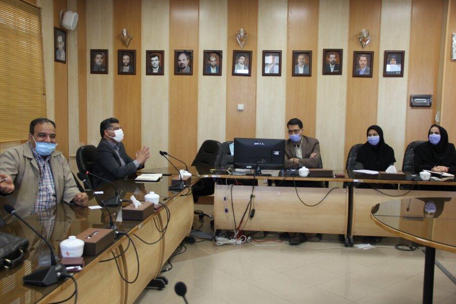 گزارش تصویری| نشست هم اندیشی مدیر کل بهزیستی استان با کارشناسان اورژانس اجتماعی