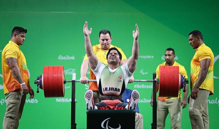 """مجید فرزین؛ مرد طلایی وزنه بردار """"پارالمپیک"""""""
