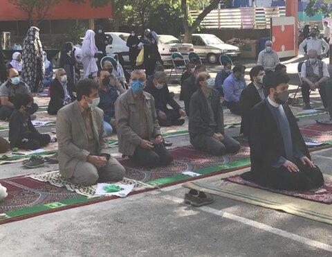 اقامه نماز عید سعید فطر در شیرخوارگاه آمنه