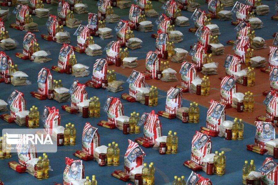 شهر تهران  ۱۰ هزار بسته معیشتی بین مددجویان بهزیستی تهران توزیع شد