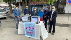 گزارش تصویری| بازدید مسئولین بهزیستی استان مازندران از پایگاه های جمع آوری فطریه